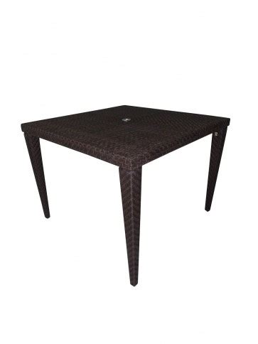 Atlantis Dining Table Atlantis Patio Woven Square 40 Quot Dining Table