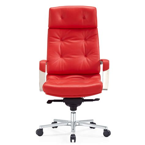 red leather desk chair red leather office chair chairs seating