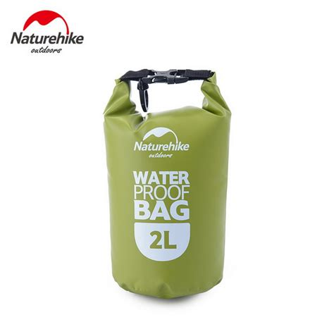 Waterproof Outdoor Bag Green naturehike nh outdoor waterproof drifting bag green