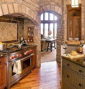 Stone Kitchens Design Liking The Stone Accents In This Kitchen Design Kitchens