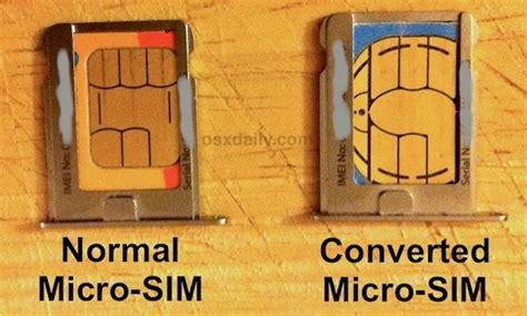 convert  sim card  micro sim  cutting  scissors  nail file