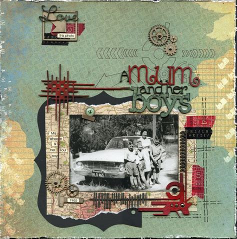 scrapbook layout vintage 246 best vintage scrapbooking layouts images on pinterest