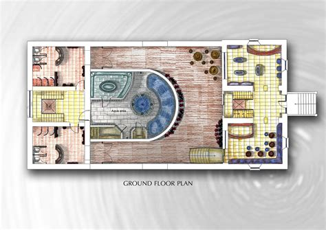 day spa floor plan spa project by irina makarova at coroflot com