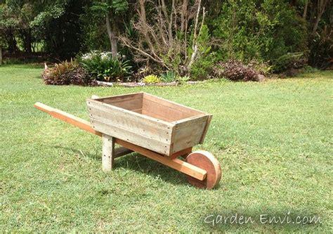 Landscape Timber Wheelbarrow Garden Wheelbarrow Made From Recycled Australian Hardwood