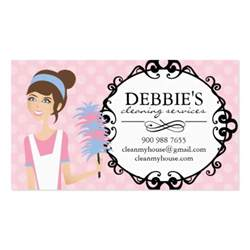 service business cards whimsical house cleaning services business cards business