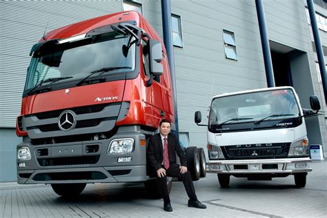 mercedes commercial mercedes benz malaysia commercial vehicles records growth