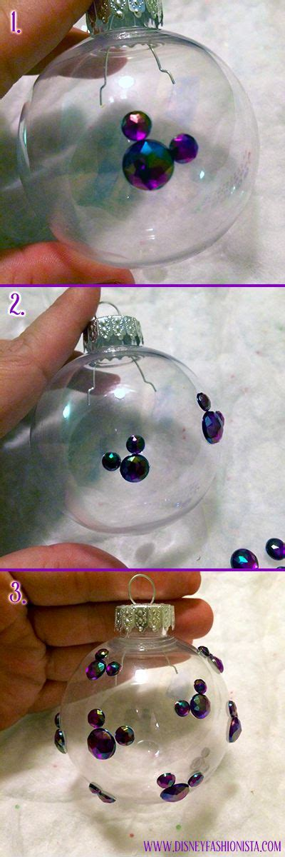 diy ornaments disney diy disney ornaments that sparkle disney decor