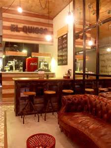 d 233 coration retro industriel dans le restaurant el quiosc