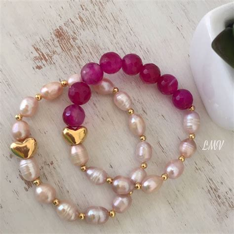 como hacer pulseras con perlas pulseras de perlas by luz marina valero accesorios