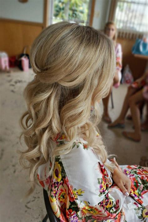 Wedding Hairstyles For Hair Half Up Half by Half Up Half Wedding Hairstyles Partial Updo Bridal