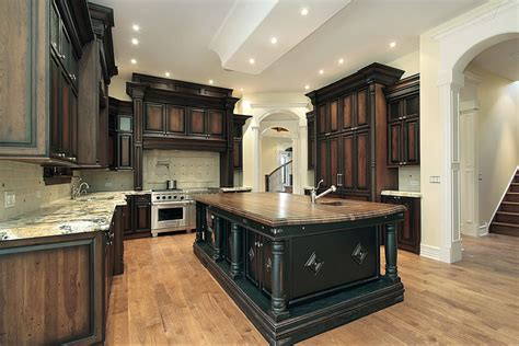 black stained kitchen cabinets 143 luxury kitchen design ideas designing idea