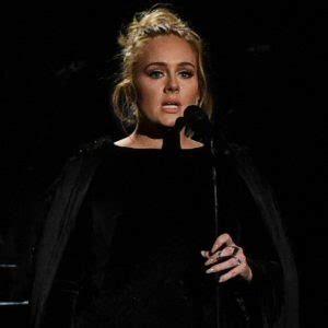 adele restarts george michael tribute performance at