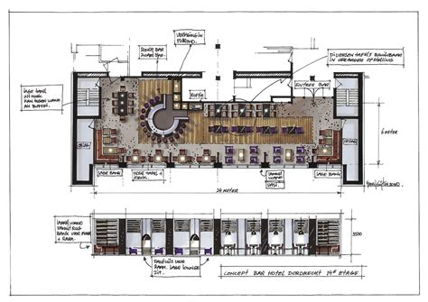 bar and restaurant floor plan hans kuijten 187 restaurant design cafe restaurants