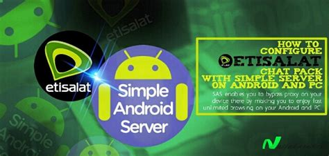 simple android server working settings for etisalat simple android server