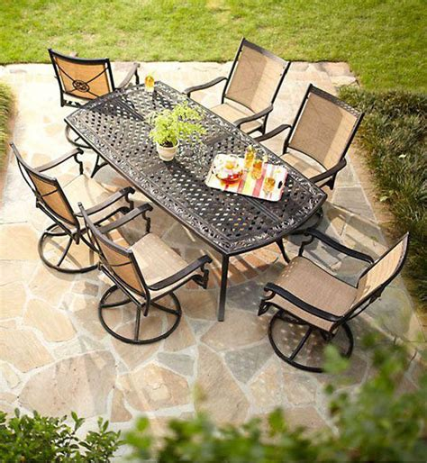 solana bay 7 patio dining set hton bay solana bay 7 patio dining set asr set