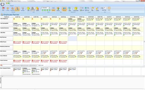 droster employee scheduling freeware 5 5 3 windows