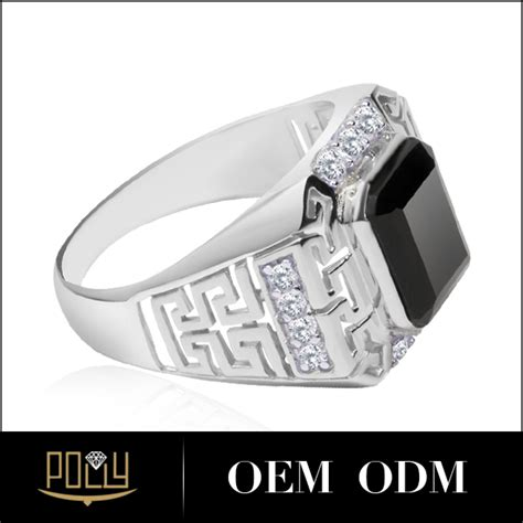 Cincin White Luxury Ring 020 s luxury silver ring high class china jewelry wholesale 925 sterling silver jewelry with