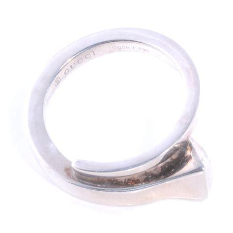 gucci silver chiodo nail ring 6 75 39993