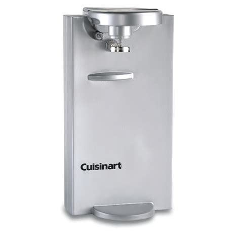 under cabinet can opener lowes shop cuisinart countertop electric can opener at lowes com