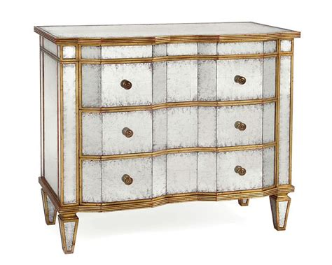 vintage gold chest of drawers john richard eglomise chest of drawers with angular front