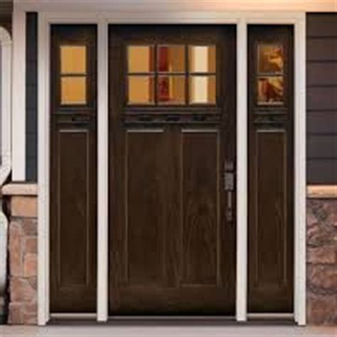 Home Depot Entry Doors With Sidelights by White Fiberglass Entry Doors With Sidelights Popular Fiberglass Front Door Ideas
