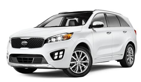 Compare Kia Models 2017 Kia Sorento Vs Toyota Highlander Suv Comparison