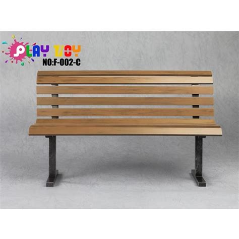 toy bench monkey depot diorama bench play toy brown park bench f