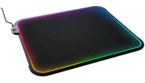 Mousepad Steelseries the steelseries qck prism is the dual sided rgb mousepad pcworld