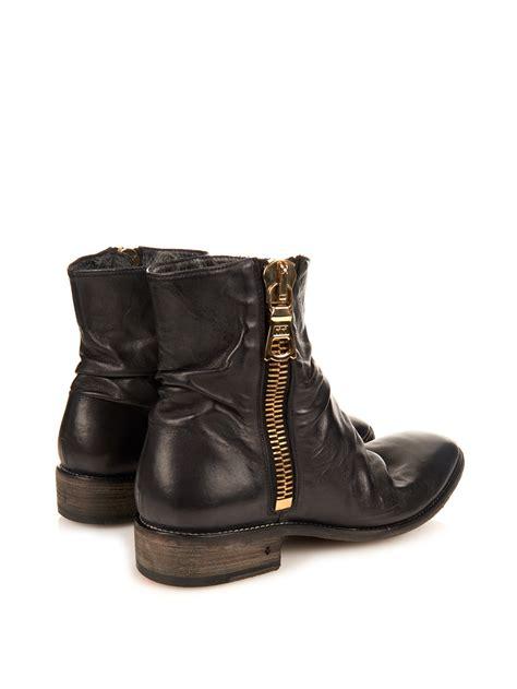varvatos boots mens lyst varvatos richards wide zip leather boots in