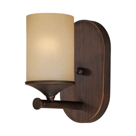 shop millennium lighting 1 light 8 in rubbed bronze