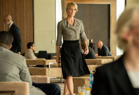 Robin Wright House Of Cards Wardrobe by Underwood S 10 Best Power Looks Vanity Fair