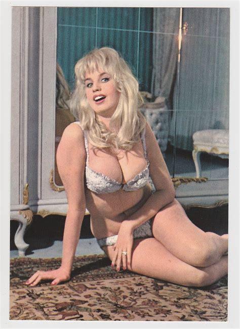 risque photos on ebay postcard risque sexy bikini girl gorgeous barbara valentin