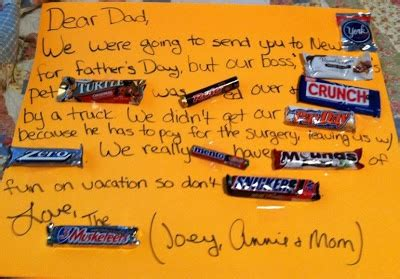 a fun and quot sweet quot diy father s day gift candy card