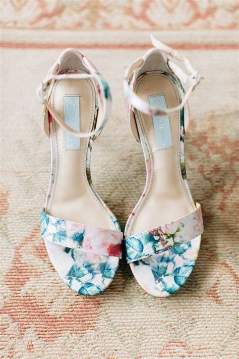 Floral Bridal by 32 Floral Wedding Shoes Ideas For And Summer