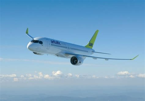 Service Letter Bombardier Airbaltic Signs Letter Of Intent For Up To 20 Bombardier