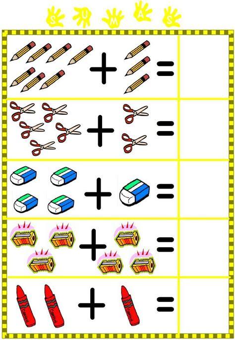 imagenes matematicas recreativas juegos para aprender sumas y restas