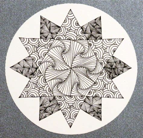 zentangle pattern floor patterns on pinterest zentangle origami ball and doodle