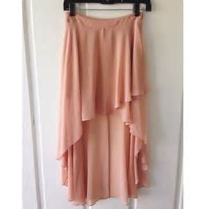 64 forever 21 dresses skirts light pink high low