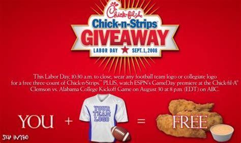 Chick Fil A Giveaway - did someone say free chick fil a so good blog