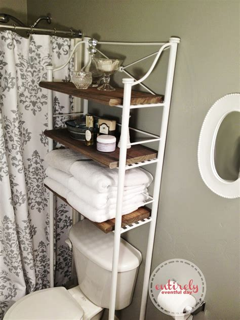 diy bathroom shelf diy bathroom shelf make over entirely eventful day
