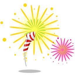 fireworks icon merry christmas iconset iconshock