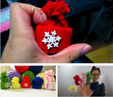 How To Make A Toque With Paper - diy handmade ornaments yarn toque craft forum