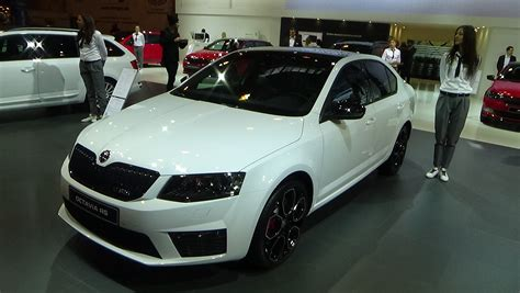 skoda octavia rs interior 2016 skoda octavia rs exterior and interior essen