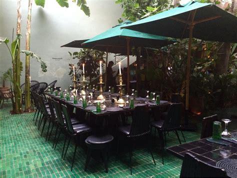 le jardin restaurant de marrakech miluccia