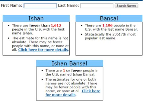 Find How Many Your Name Find How Many Same Name As You