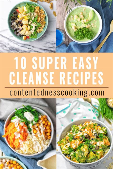 Best Food For Detoxing In The New Year 10 easy cleanse recipes for new year detox contentedness