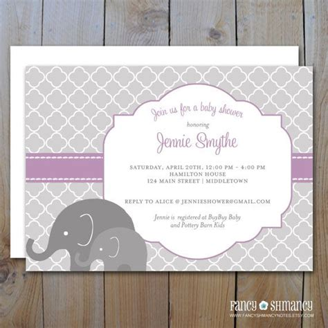 Purple Elephant Baby Shower Theme by 51 Best Images About Elephant Baby Shower On