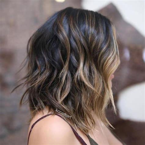 layered lobs thick hair 80 sensational medium length haircuts for thick hair in 2018