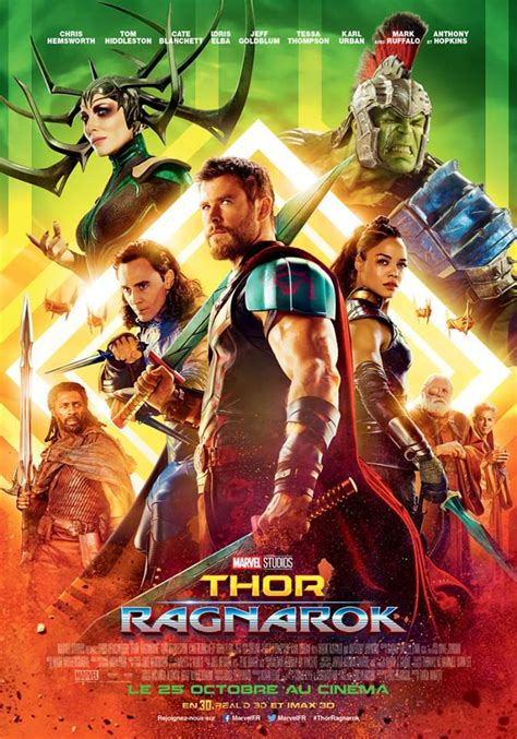 film action thor thor ragnarok film 2017 senscritique
