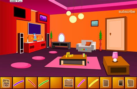 Livingroom Cartoon escape from appartment livingroom cartoon games